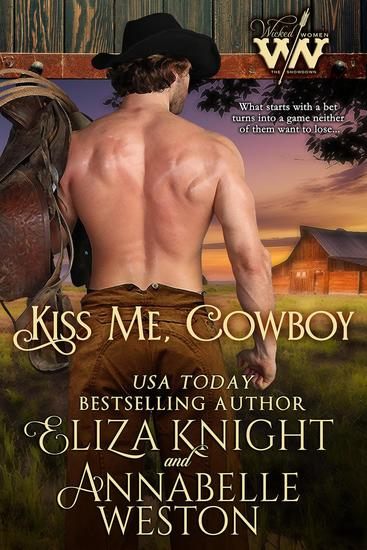 Kiss Me Cowboy - Wicked Women #3 - cover