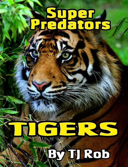Tigers - Super Predators - cover