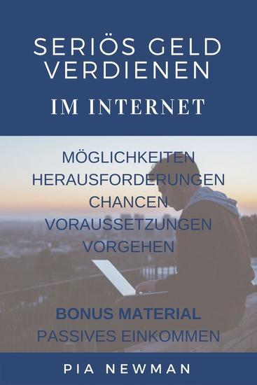 Seriös Geld verdienen im Internet: Ein Leitfaden - cover