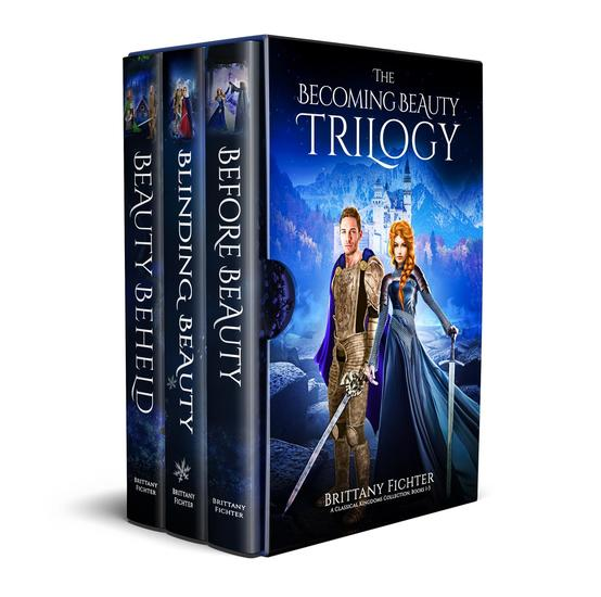 The Becoming Beauty Trilogy - Classical Kingdoms Collection Boxset Series #1 - cover