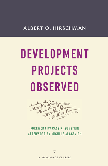 Development Projects Observed - cover