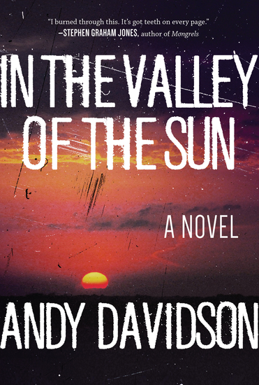 In the Valley of the Sun - A Novel - cover