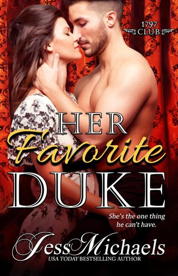 Her Favorite Duke - The 1797 Club #2 - cover