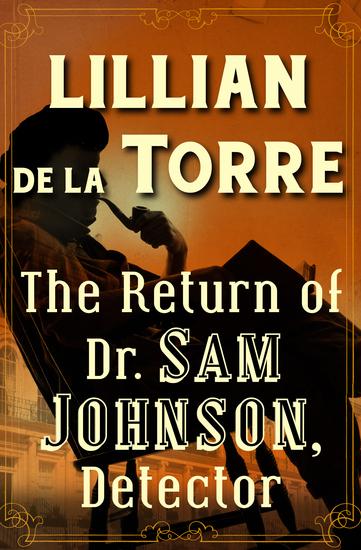 The Return of Dr Sam Johnson Detector - cover