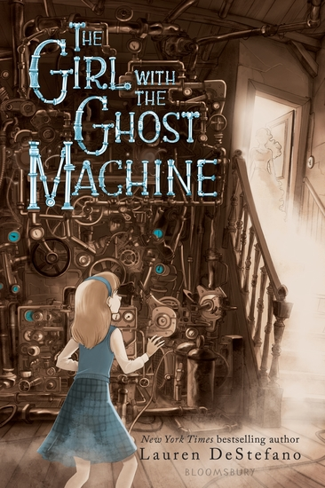 The Girl with the Ghost Machine - cover