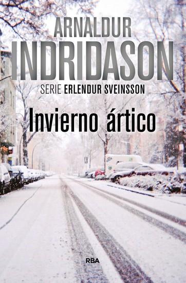 Invierno ártico - Un caso del inspector Erlendur Sveinsson - cover
