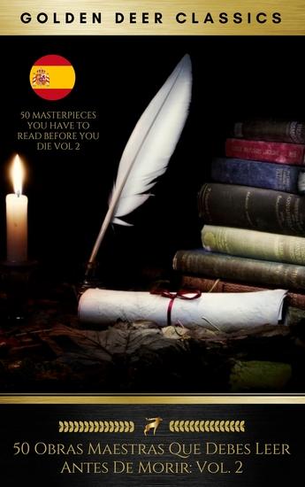 50 Obras Maestras Que Debes Leer Antes De Morir: Vol 2 (Golden Deer Classics) - cover