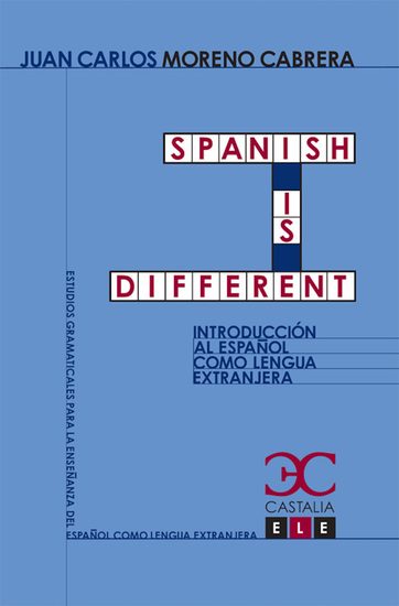 Spanish is different - cover