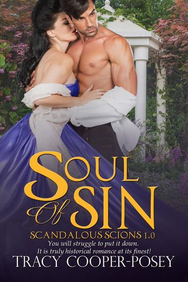 Soul of Sin - Scandalous Scions #1 - cover