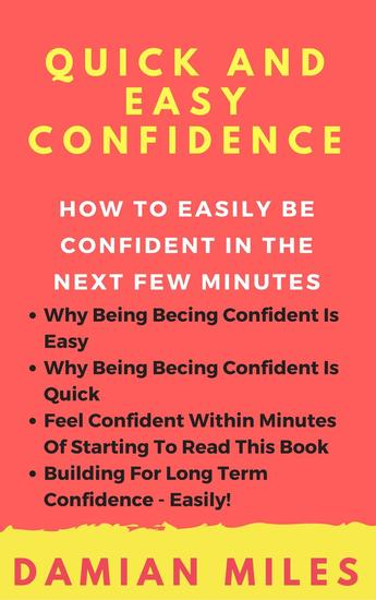 Quick And Easy Confidence - cover