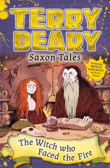 Saxon Tales: The Witch Who Faced the Fire - cover