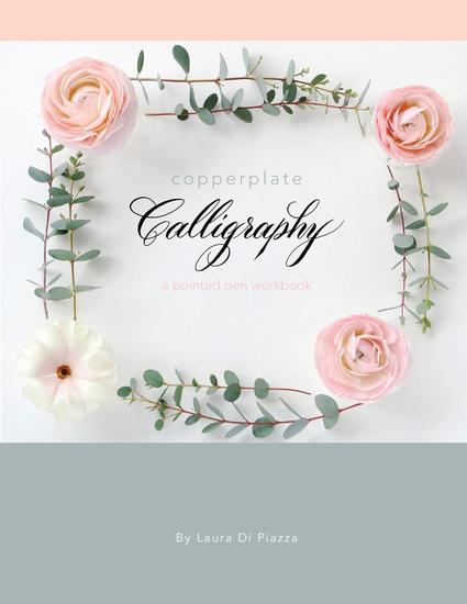 Copperplate Calligraphy - a pointed pen workbook - cover