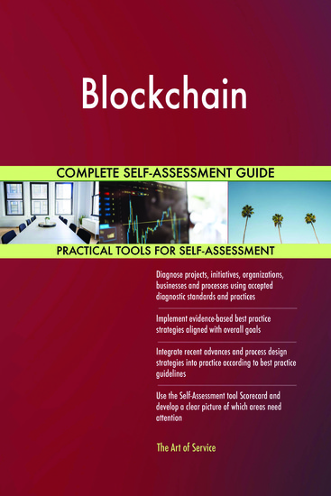 Blockchain Complete Self-Assessment Guide - cover