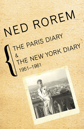 The Paris Diary & The New York Diary - 1951–1961 - cover