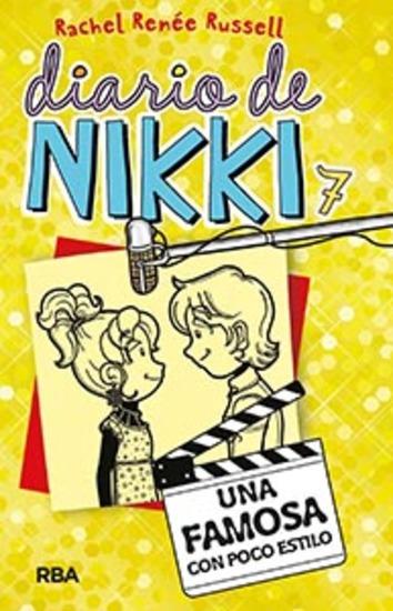 Diario de Nikki 7 - Una famosa con poco estilo - cover