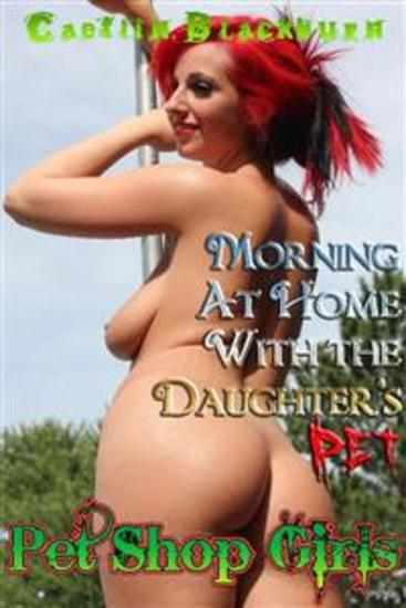 Morning at Home With the Daughter's Pet - cover