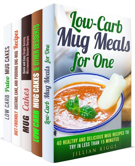 Mug Meals for One Box Set (5 in 1): Easy and Delicious One-Mug Meals for Busy People - Microwave Meals & Recipes - cover