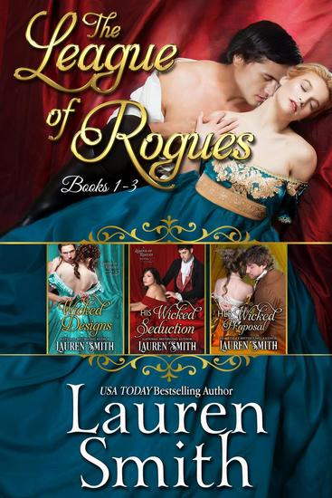 The League of Rogues Box Set (Books 1-3) - cover