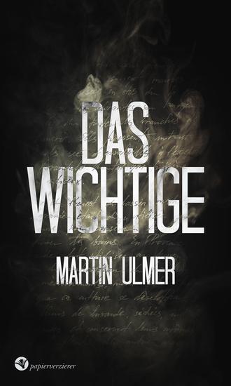 Das Wichtige - Gedichte - cover