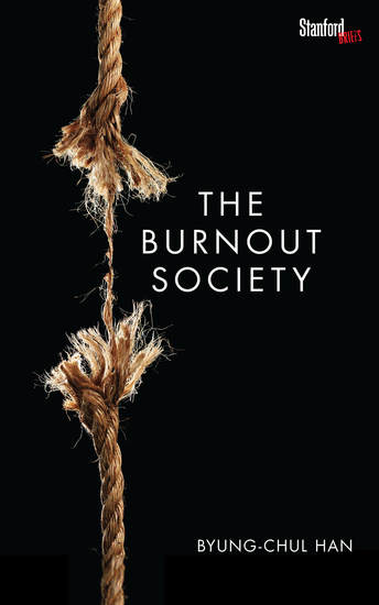 The Burnout Society - cover