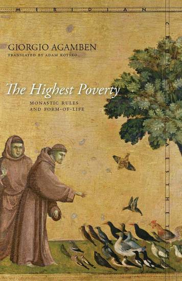 The Highest Poverty - Monastic Rules and Form-of-Life - cover