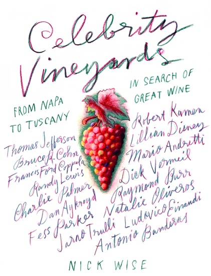 Celebrity Vineyards - cover