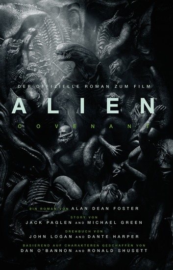 ALIEN: COVENANT - der offizielle Roman zum Film - SciFi-Horror - cover