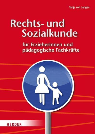 Rechts- und Sozialkunde für Erzieherinnen und pädagogische Fachkräfte - cover