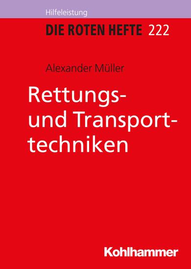 Rettungs- und Transporttechniken - cover