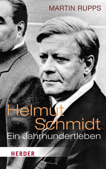 Helmut Schmidt - Ein Jahrhundertleben - cover