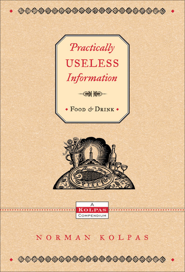 Practically Useless Information on Food and Drink - cover