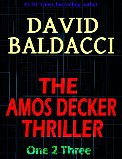 The Amos Decker Thriller: One 2 Three - cover