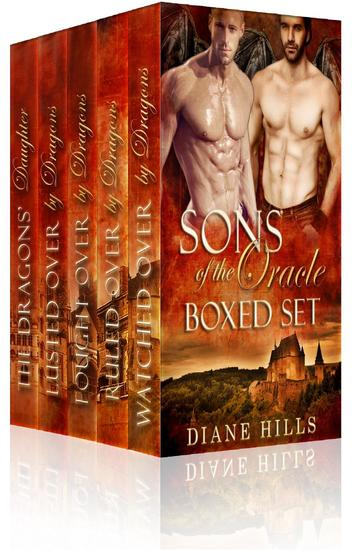Paranormal Shifter Romance Sons of the Oracle Box Set BBW Dragon Shifter Paranormal Romance - cover
