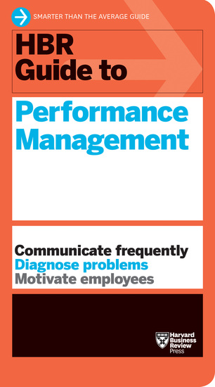 HBR Guide to Performance Management (HBR Guide Series) - cover