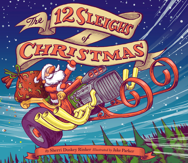 The 12 Sleighs of Christmas - cover