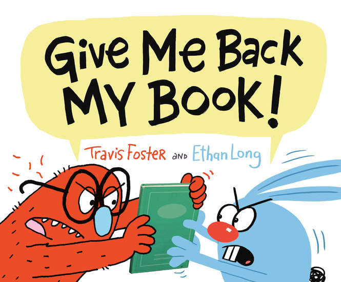 Give Me Back My Book! - cover