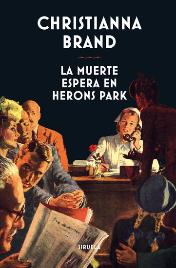 La muerte espera en Herons Park - cover