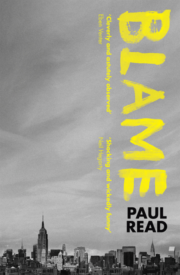 Blame: Dark and suspenseful family drama - cover