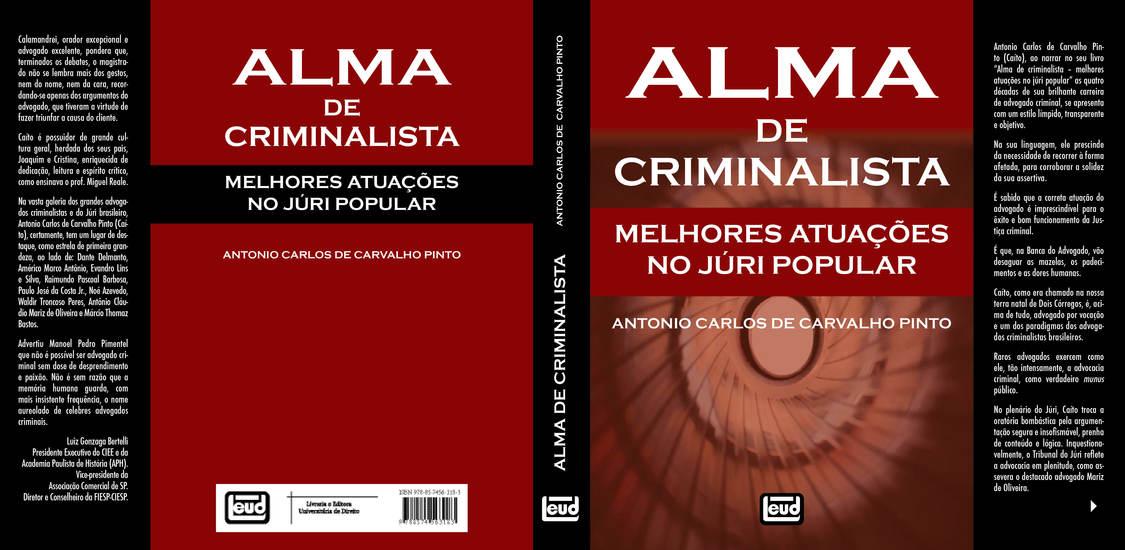 Alma de criminalista - cover