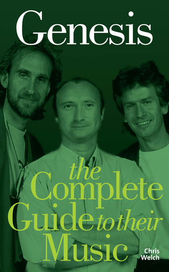Genesis: The Complete Guide to their Music - cover