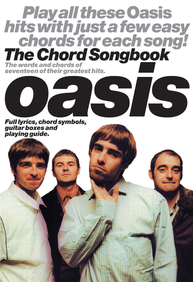 Oasis: The Chord Songbook - cover