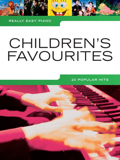 Really Easy Piano: Children's Favourites - cover