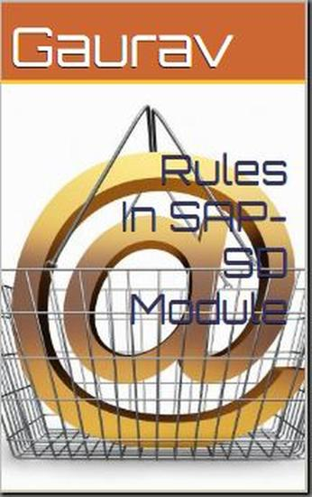 Rules In SAP-SD Module - cover