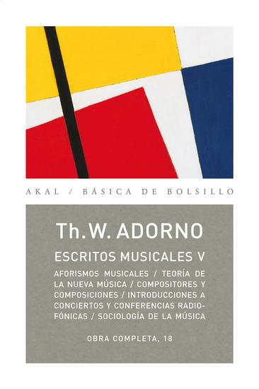Escritos musicales V - cover