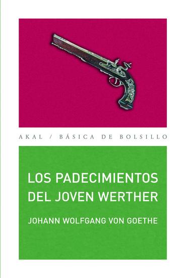 Los padecimientos del joven Werther - cover