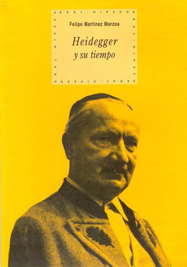 Heidegger y su tiempo - cover