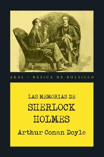 Las memorias de Sherlock Holmes - cover