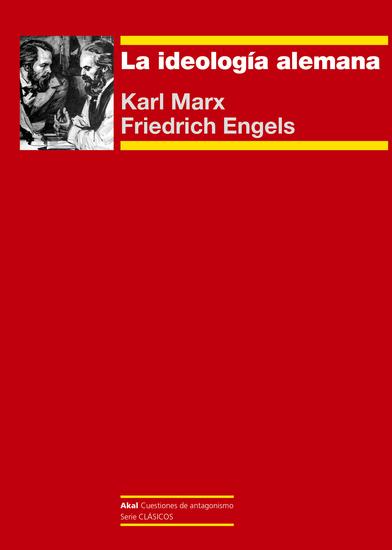 La ideología alemana - cover