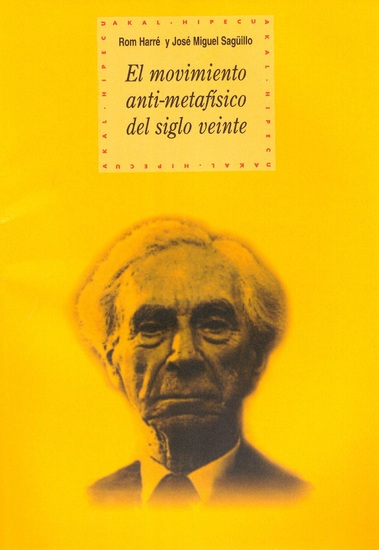 El movimiento anti-metafísico del siglo veinte - cover