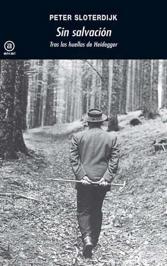 Sin salvación - Tras las huellas de Heidegger - cover